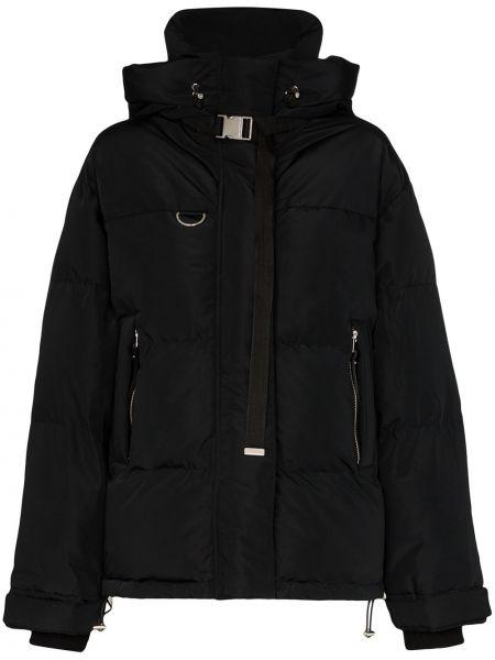 Czarna kurtka z kapturem bawełniana Shoreditch Ski Club