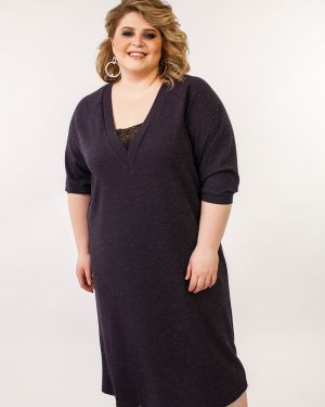 Платье с V-образным вырезом платье-сарафан Jetti-plus