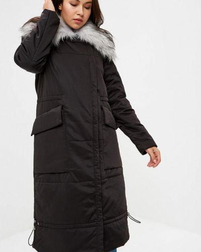 Зимняя куртка утепленная черная Lost Ink.