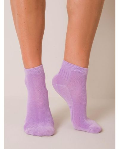 Skarpety bawełniane - fioletowe Fashionhunters