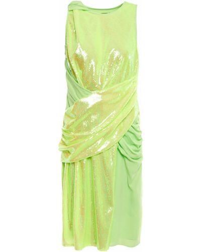 Платье с пайетками - желтое Sies Marjan