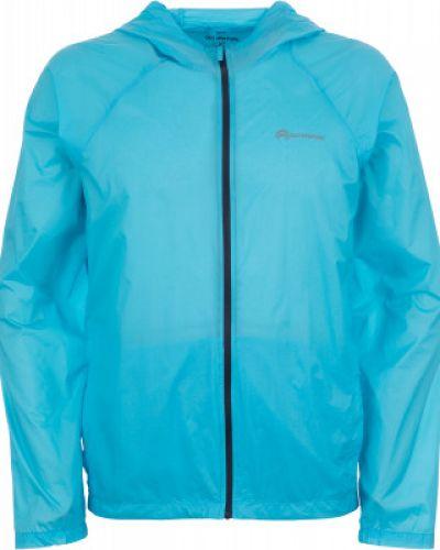 Спортивная куртка с капюшоном голубой Outventure
