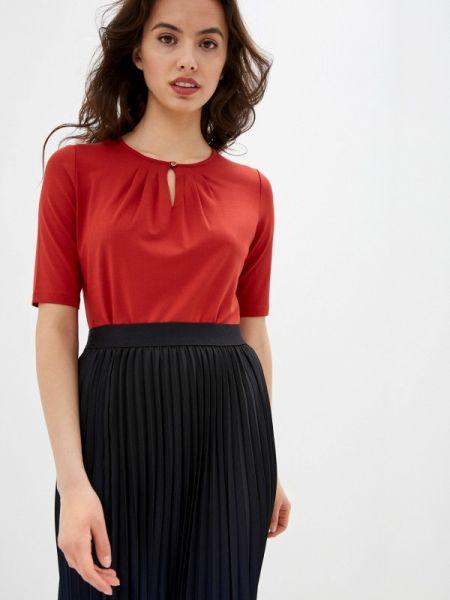 Блузка с коротким рукавом осенняя красная Gerry Weber