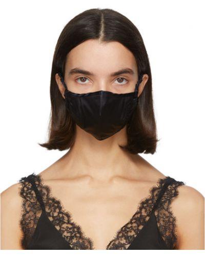 Шелковая черная маска для лица Fleur Du Mal