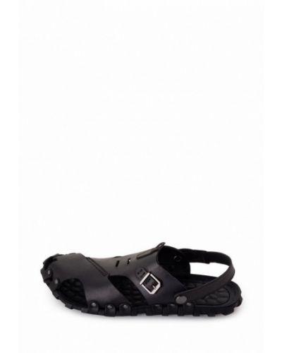 Кожаные сандалии - черные Tomfrie