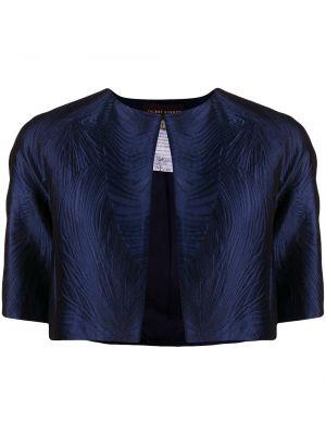 Пиджак длинный - синий Talbot Runhof