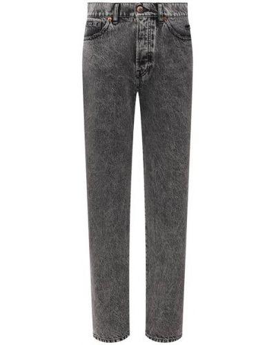 Прямые джинсы с завышенной талией - серые 3x1
