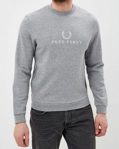Свитшот серый Fred Perry