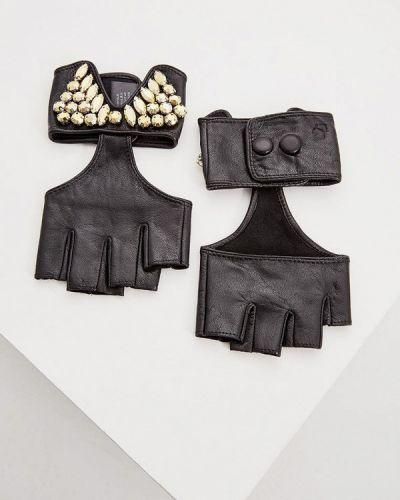 Черные митенки Karl Lagerfeld