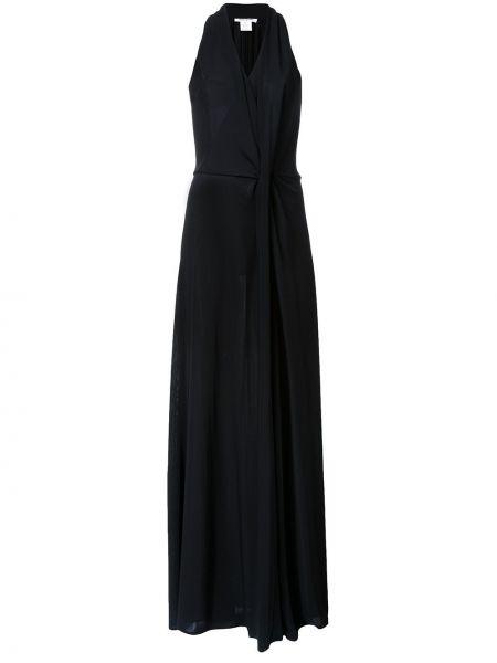 Плиссированное платье макси Bianca Spender