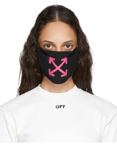 Bawełna z paskiem biały maska do twarzy na paskach Off-white
