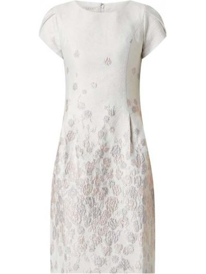 Różowa sukienka koktajlowa krótki rękaw Apart Glamour