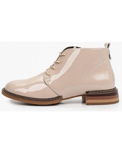 Бежевые лаковые ботинки Wilmar