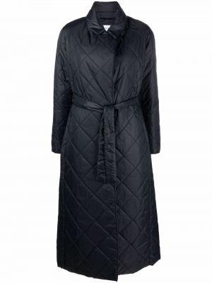 Синее длинное пальто PaltÒ