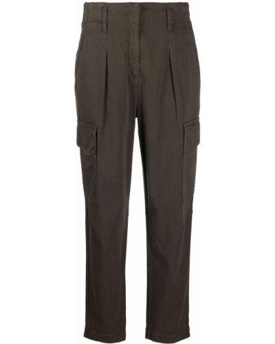 Зеленые брюки на шпильке Luisa Cerano