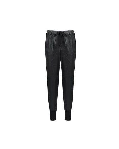 Черные зауженные брюки Peserico