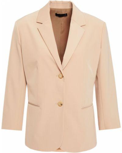 Желтый пиджак с карманами на кнопках The Row