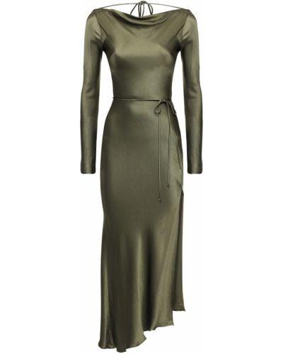 Платье макси длинное - зеленое Bec & Bridge