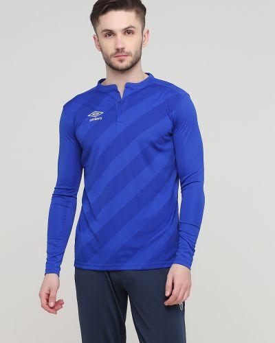 Спортивная лонгслив - синяя Umbro