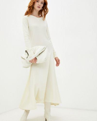 Платье-футболка - бежевое Polo Ralph Lauren