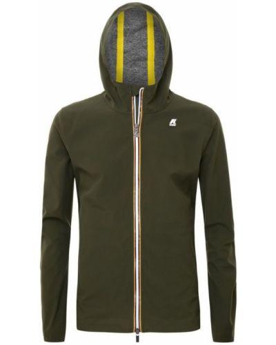Zielona kurtka casual K-way