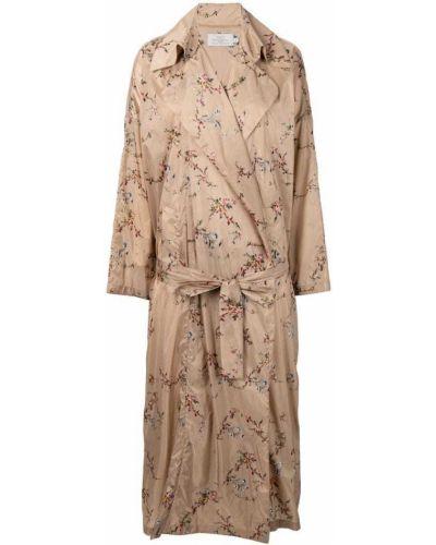 Длинное пальто с капюшоном Preen By Thornton Bregazzi