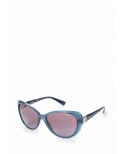 Синие солнцезащитные очки Vogue® Eyewear