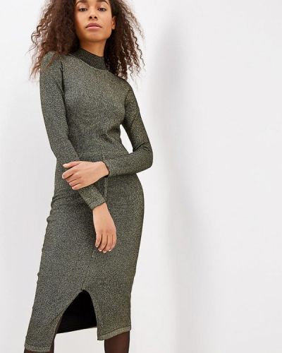 Вязаное платье осеннее трикотажное Incity