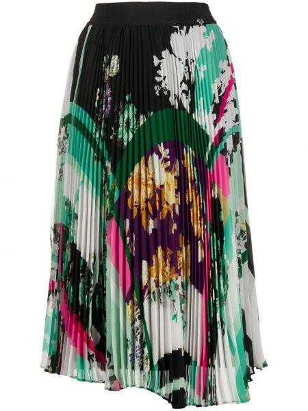 Плиссированная юбка с завышенной талией с цветочным принтом Twin-set