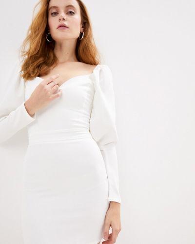 Брендовое белое вечернее платье Lipinskaya Brand
