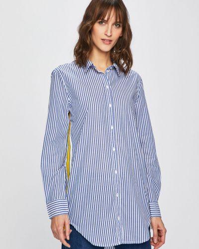Блузка с длинным рукавом хлопковая с манжетами Only