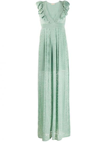 Платье с завышенной талией вязаное Liu Jo