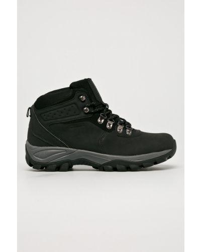 Ботинки на шнуровке черные Big Star