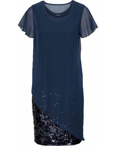 Коктейльное платье с пайетками Bonprix