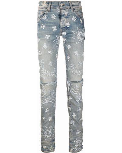 Синие джинсовые джинсы Amiri