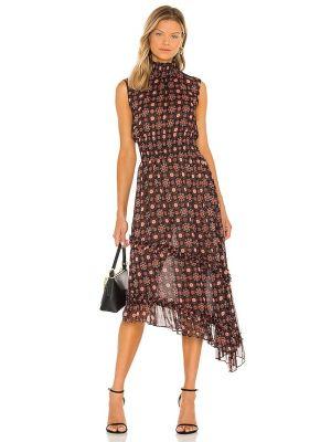 Платье с подкладкой - черное Misa Los Angeles