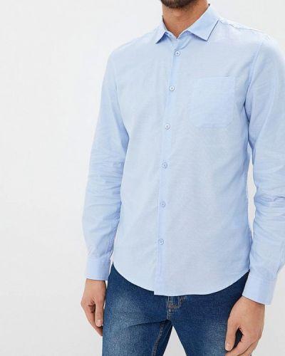 Голубая рубашка с длинным рукавом Sela