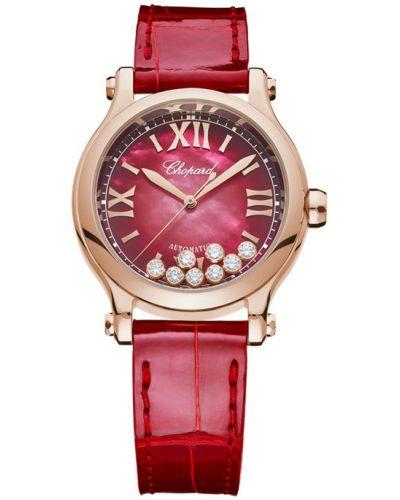 Zegarek sportowy - czerwony Chopard