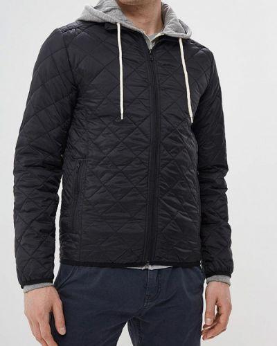 Утепленная куртка демисезонная черная Blend