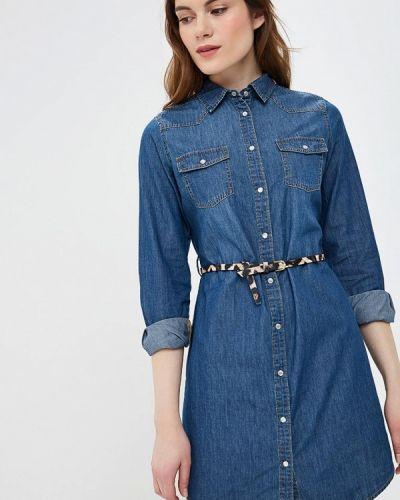 Платье - синее Nice & Chic