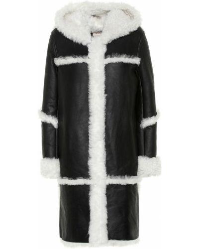 Пальто с опушкой Yves Salomon Meteo