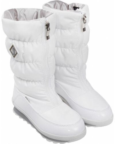 Текстильные белые сапоги Jog Dog