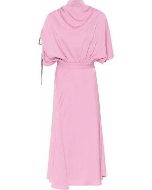 Платье миди розовое модерн •ellery•