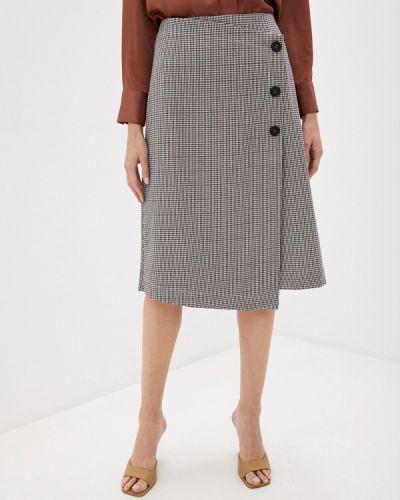 Коричневая прямая юбка карандаш Trendyangel