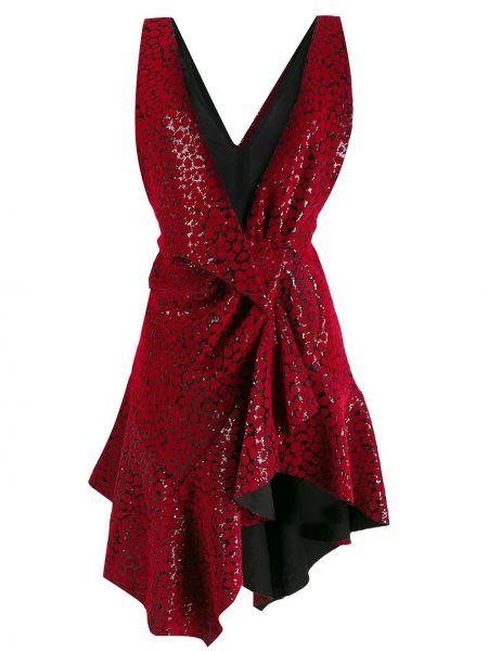Платье с открытой спиной с пайетками Philosophy Di Lorenzo Serafini
