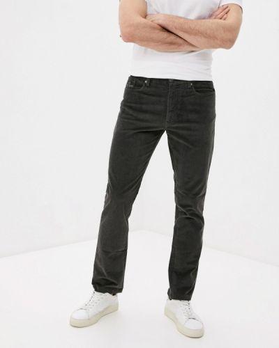 Прямые зеленые брюки Angelo Bonetti
