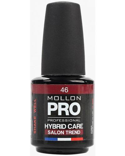 Лак для ногтей бордовый красный Mollon Pro