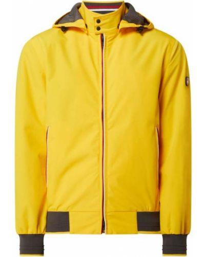Żółta kurtka z kapturem Wellensteyn