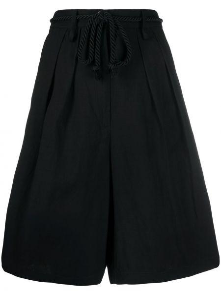 Черные шорты с карманами Forte Forte