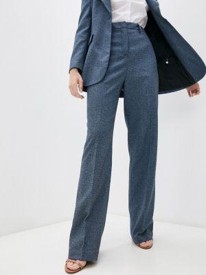 Синие итальянские брюки Trussardi